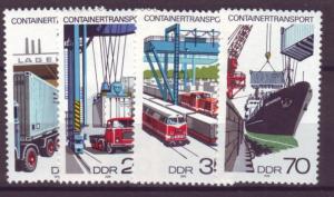 J20540 Jlstamps 1978 germany ddr set mnh #1914-7 transportation