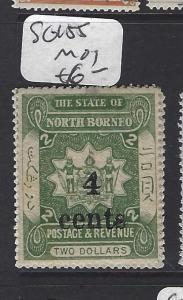 NORTH BORNEO  (PP2811B)  4C/$2.00     ARMS, LION      SG 156   MOG