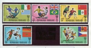 TOGO SELECTION OF USED & MINT NH STAMPS DELIVERED OFF THE PAGES