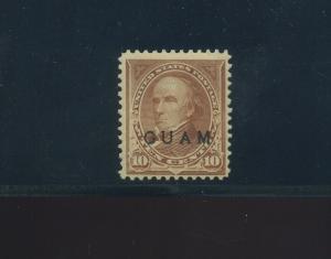 Guam Scott #8 Overprint Mint  Stamp (Stock Guam #8-1)