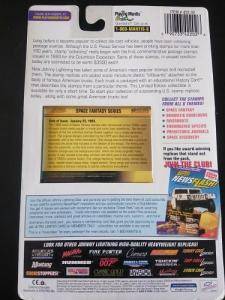 Johnny Lightning USPS 1991 GMC Syclone 1/64 scale featuring Scott 2741 - 2745