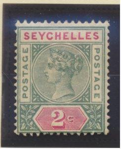 Seychelles Stamp Scott #1, Mint Hinged