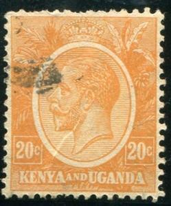 British East Africa Sc#25 Used