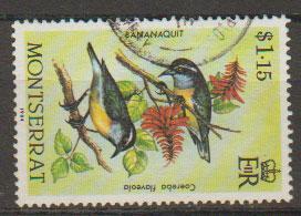 Montserrat SG 610 Fine Used - Birds