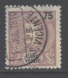 Cape Verde Sc # 48 used (RS)