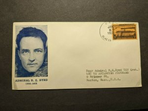 USS GLACIER AGB-4 Naval Cover 1957 ADMIRAL BYRD Cachet