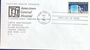 Jamestown New York General Hospital 2087 Health Research Sloane Kettering 100th