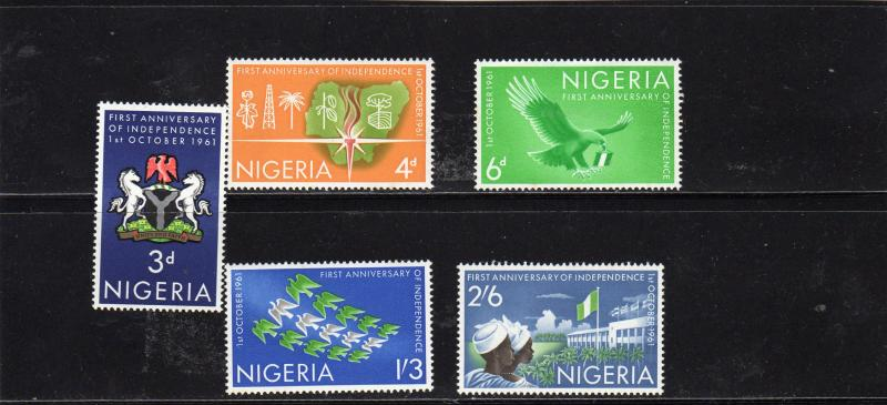 Nigeria 1961 1stAnniv of Independence MNH
