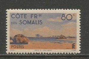 Somali Coast   #253  MNH  (1947)  c.v. $0.70