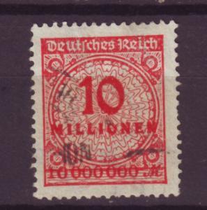 J13713 JLstamps 1923 germany used #286 wmk 126
