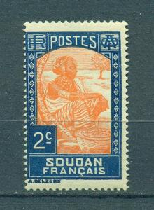 French Sudan sc# 62 mlh cat value $.25