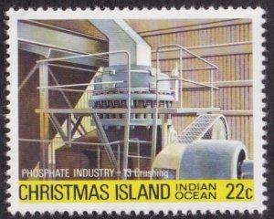 Christmas Island #107 Mint