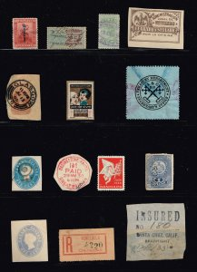 WORLDWIDE REVENUE STAMP COLLECTION LOT