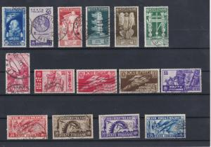 Italy 1935-6 Used Stamps  Ref: R7408