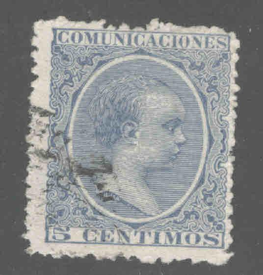 SPAIN Scott 257 Used 1889-1899 King Alfonso XIII