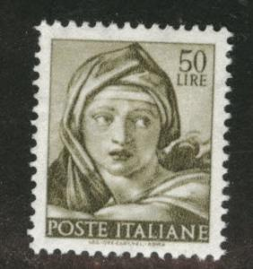 Italy Scott 821 MNH** 1961 Sistine Chapel image 50L