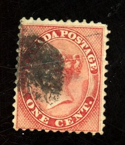 Canada #14 Used Fine Small Thins Cat$90