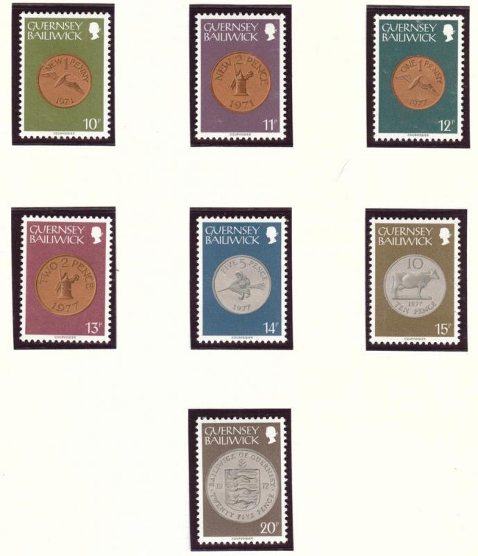 Guernsey Scott 173-188 MNH** set of 16