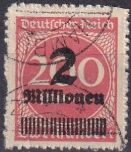 Germany #277 F-VF Used CV $150.00 (S10456)
