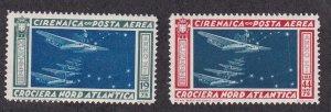 Cyrenacia # C18-19, Airplane Squadron, NH, 1/2 Cat.
