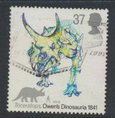 Great Britain SG 1577    Used  - Dinosaurs