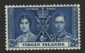 British Virgin Islands Sc#75 MLH