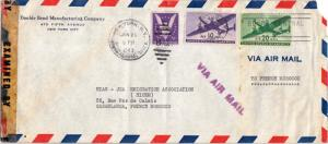 United States Transport Issue 10c and 20c Transport with 3c Win the War 1943 ...