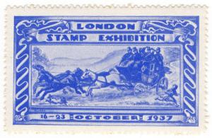 (I.B) Cinderella Collection : London Stamp Exhibition (1937)