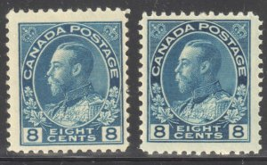 Canada VF NH #115-115i (All Stamps in perfect condition)