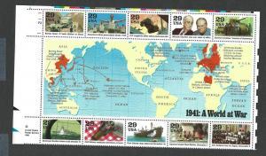 United States 1994 WWII  sheet mnh SC 2559