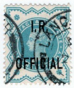 (I.B) QV Postal : IR Official ½d (SG O17)