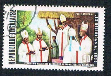 Togo C161 Used Religions of Togo (BP11219)