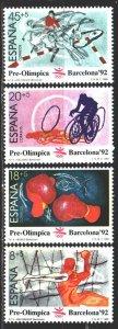 Spain. 1989. 2875-78. Barcelona Summer Olympics. MNH.