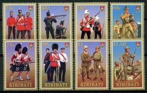Kiribati 2007 MNH Military Uniforms US Marine Corps Irish Guards 8v Set Stamps