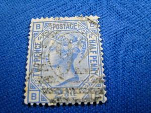 GREAT BRITAIN  -  SCOTT #68  -  Used      (brig)