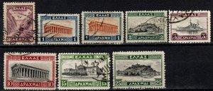 Greece #364-71  F-VF Used CV $39.00  (X946)