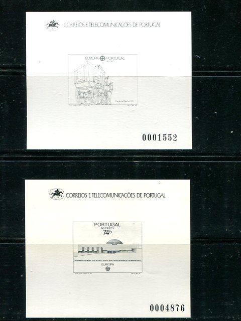 Portugal Acores Proofs 1987/88   Europa related  VF NH