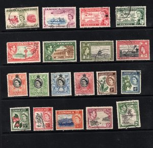 Jamaica nice assortment of 19 different  used