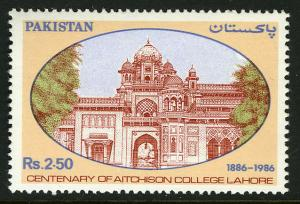 Pakistan 671, MNH. Aitchison College, Lahore, cent. 1986