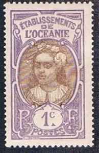 French Polynesia 21 MLH Tahitian Girl (BP4315)