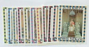 Vatican City #561-571 MNH CV$2.80 [139902]