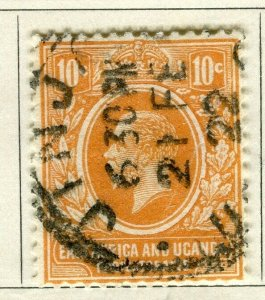BRITISH KUT; 1921 early GV issue fine used 10c. value