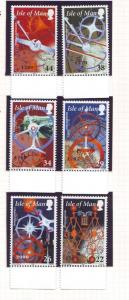 Isle of Man Sc 851-6 2000 Story of Time stamp set mint NH