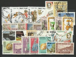 Senegal Topical Very Fine MNH** & Used Stamps Lot Collection 15397