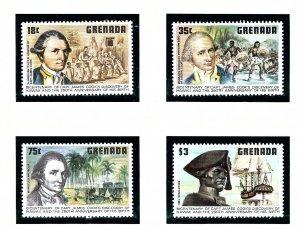 Grenada 895-98 MNH 1978 Capt Cook     (KA)