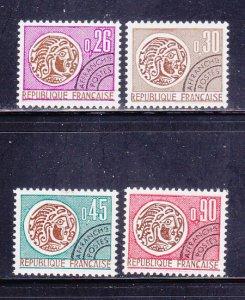 France 1315-1318 Set MNH Coins On Stamps
