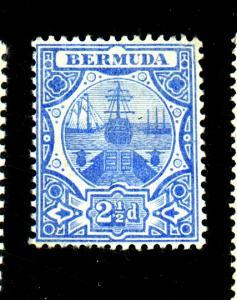 Bermuda #38 MINT F-VF OG LH Cat $25