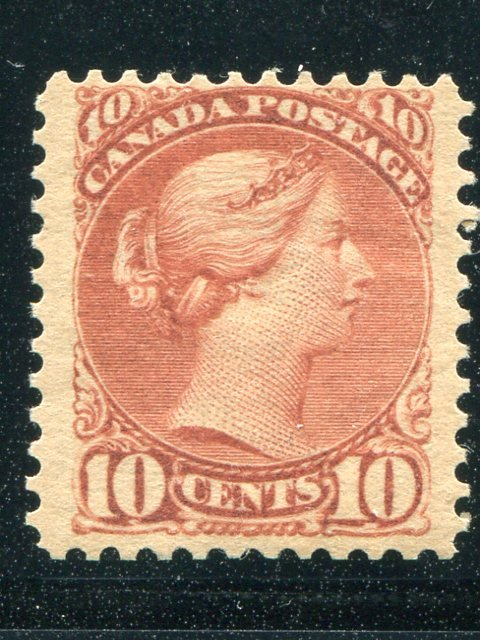 Canada #45  Mint  F- VF+ -  Lakeshore Philatelics