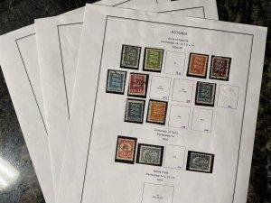 Estonia 30 Stamps - Used