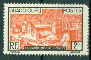 Guadeloupe - Scott 97 MH